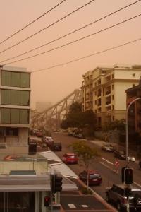 Brisbane Dust Storm