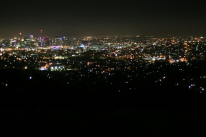 Brisbane Night (Mount Coot-tha)