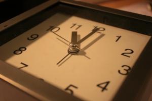 時間就是如此的快。