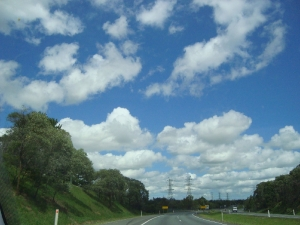 Brisbane Blue Sky